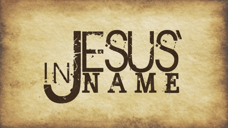 POWER IN THE NAME OF JESUS! – Uplifting Christ
