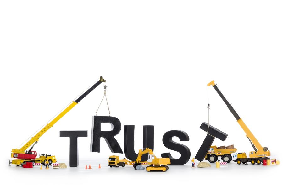 rebuilding trust