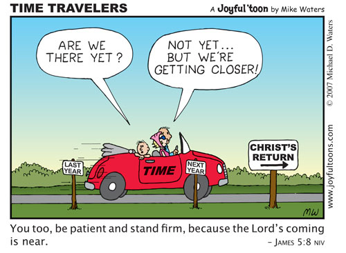 Time Travelers - James 5:8