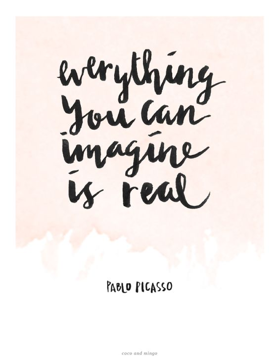 imagine is real